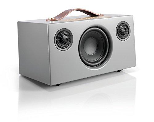 Audio Pro Addon C5 WLAN Multiroom-Lautsprecher (Stereo, Airplay, Bluetooth, WiFi) Grau