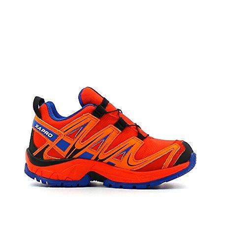 Salomon Xa Pro 3d Cswp, Chaussures de Running Entrainement Mixte Enfant Orange