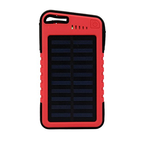 20000Mah Solar Power Bank, portable Smart Dual USB impermeable Solar Power...