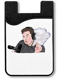 Elon Musk Smoking Titulaire De La Carte Credit Pour Smartphone