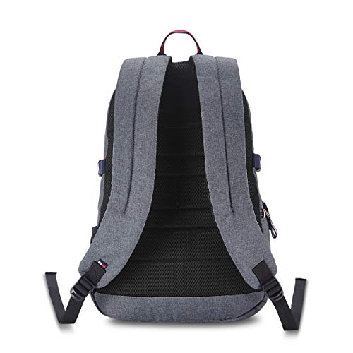 Tommy Hilfiger 29 Ltrs Grey Laptop Backpack (TH/ANDROIDLAP07) Image 3