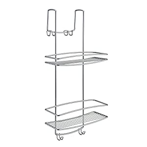 Metaltex ONDA – Jabonera de colgar para mampara de ducha