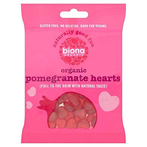 Coeurs de grenade Biona organiques 75g