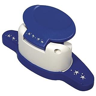 Rayher Hobby 89752000 Bordüren-Stanzer, Sterne- Motivgröße 4cm, geeignet für Papier/Karton bis zu 200g/m²