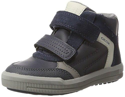 Geox Jungen J Arzach Boy B Hohe Sneaker, Blau (Navy/Grey), 31 EU (Jungen High-top)