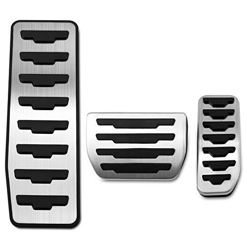 TAABOBO Copri pastiglie freno a gas per auto Jaguar XE F-PACE per Land Rover Range Rover Evoque Accessori Car Sty
