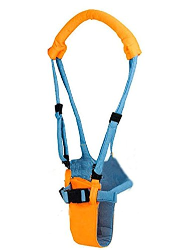 Okayji Baby Kids Toddler Walker Harness Learning Walk Assistant Safety Walking Keeper, Orange