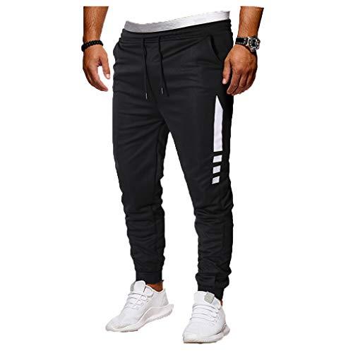 Pantaloni da Calcio da Uomo Pantaloni Uomo Estivi Leggeri Cotone Pantaloni Corsa Pants Estiva Casual