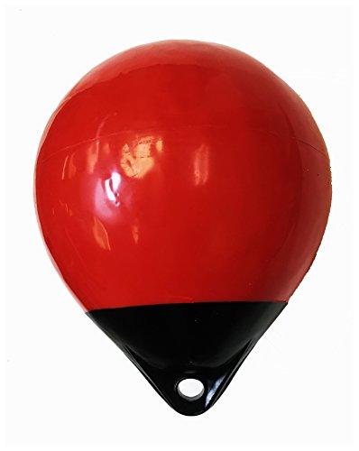 Kufa 30,5cm Durchmesser (Aufgeblasen Größe: 30,5x 38,1cm) Mark Boje Festmacher Boje Anchor Lift Boje A30, rot/schwarz