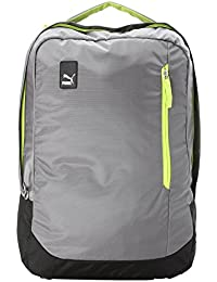 16c899590ae01 Puma Steel Gray and Acid Lime Laptop Backpack (7483404)