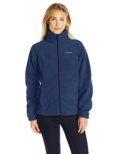 Columbia Women's Petite Benton Springs Full Zip Fleece Jacket - X-Small - Columbia Navy -