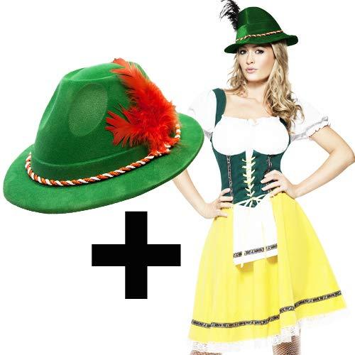 (Ladies Oktoberfest Costume Medium + Hat)
