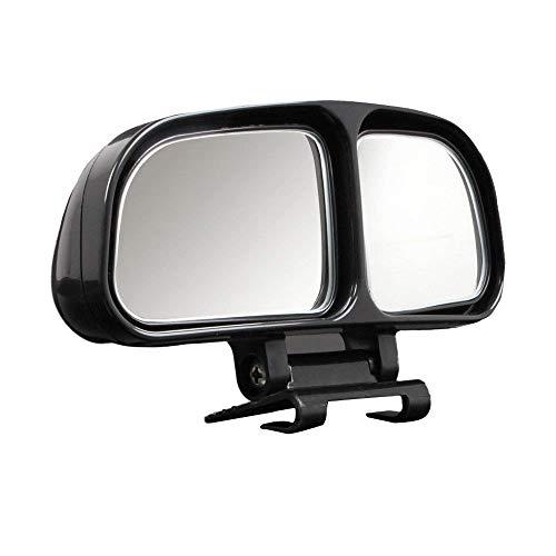Blind Spot Spiegel, BODECIN Einstellbar Oder Fest Installierte Autospiegel für Blinde Seite/Tür Spiegel, Universelle Rückseite 360° Wide Angle View Spiegel für Vehicle SUV Truck (Links + Rechts) -