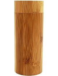 Fansport Sonnenbrille Fall Brillenetui Handgefertigte Bambus Holz Gläser Sonnenbrille Brillen Box