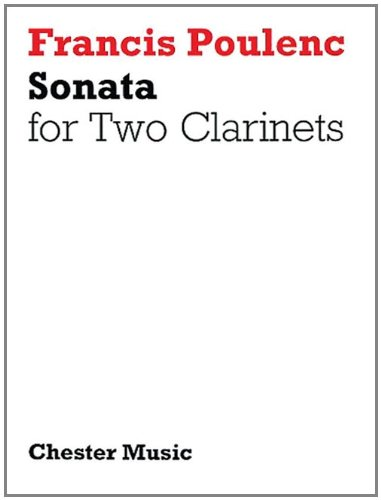 Sonata For Two Clarinets par Divers