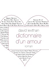 Dictionnaire d'un amour (Littérature Etrangère)