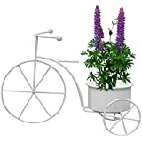[Sponsored]NUHA Planter Pot With Cycle Style Stand , Table Top, Planter , Garden Pot, Garden Decoration, Home Decor, Return Gift , Gifting, Birthday