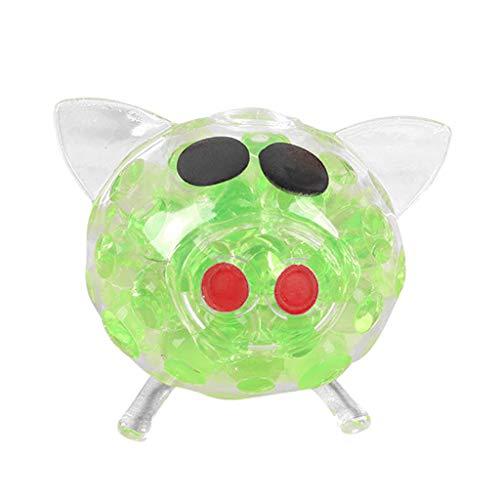 Kaister Stressabbau Spielzeug Cute Anti Stress Splat Wasser Schwein Ball Vent Sound Venting Sticky