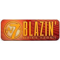 Nueva W7Blazin 'varios colores en llamas–ojos paleta de colores–12plalette