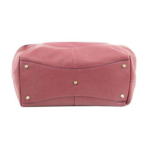 Tuscany Leather Cinzia - Borsa shopping in pelle morbida - TL141515 (Rosa antico) Rosa antico