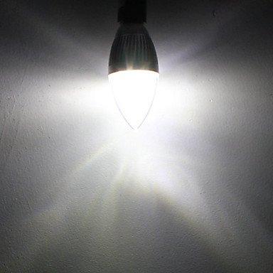 FDH 3W E14 Luces de velas LED C35 de 3 leds de alta potencia de 270 lm / decorativo blanco natural atenuables de 110-240 V CA