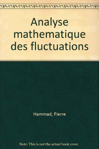 Analyse mathmatique des fluctuations