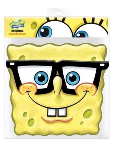 Spongebob Schwammkopf Brille Party-Maske