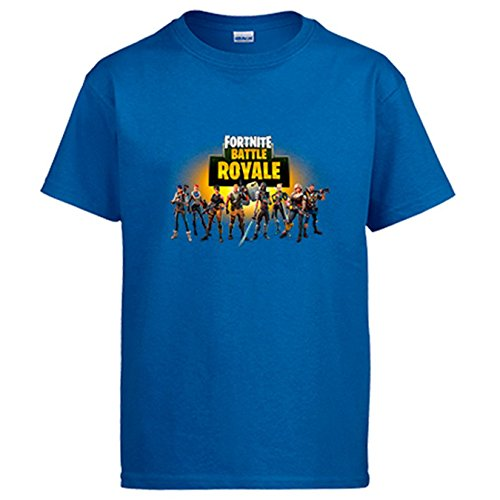 Camiseta Fortnite Battle Royale - Azul Royal, 12-14 Años