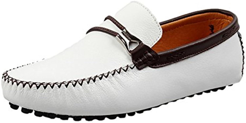 Icegrey Hombre Mocasines Zapatos Clásico de Ante del Mocasín Que conduce Los Zapatos