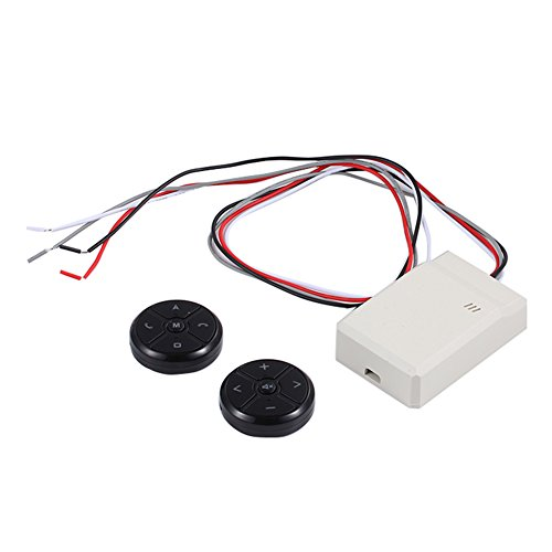 Auto Lenkrad Tasten Controller für Universal Auto Stereo DVD GPS Navigation 10 Buttons T-3