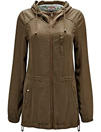 Joe Browns Womens Zip Up Hooded Jacket