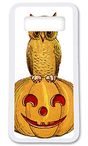 BBhappiness Custom Samsung Galaxy Note 8 Cases - Happy Halloween Hard Plastic Phone Cell Case for Samsung Galaxy Note 8