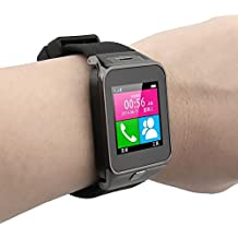 Samsung Galaxy J7 (2017) Compatible Smart Watch For Men 4g Phones Compatibility Original Smartwatch Wristwatch Mobile with Camera & SIM Card Support New Arrival Best Selling Premium Quality Lowest Price Apps like Facebook Whatsapp Twitter Functions Time Schedule Read Message News Sports Health Pedometer Sedentary Remind Sleep Monitoring Better Display Loudspeaker Microphone TouchScreen Multi-Language Micro SD Memory Card Supports All Android and Apple IOs iPhone Smartphone by CartBug