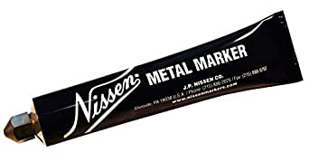 Nissen 436-00202 3-16 pouces blanc Marqueur de m-tal