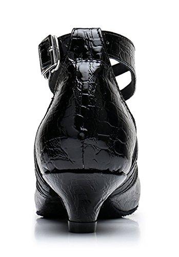 TDA - Sandali con Zeppa donna 3.5cm Heel Black