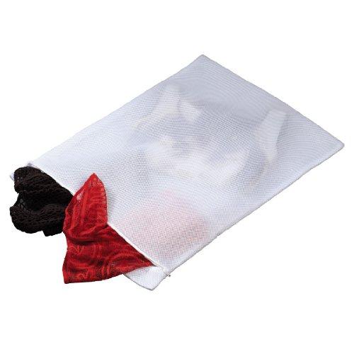 Xavax Wäschesack für Waschmaschine (Premium Wäschenetz für Dessous, BH, Strumpfhosen, Socken und Strümpfe, Kaschmir, Merino oder Baby-Kleidung, Waschsack gepolstert, 45 x 25 cm, für 1 kg Wäsche)