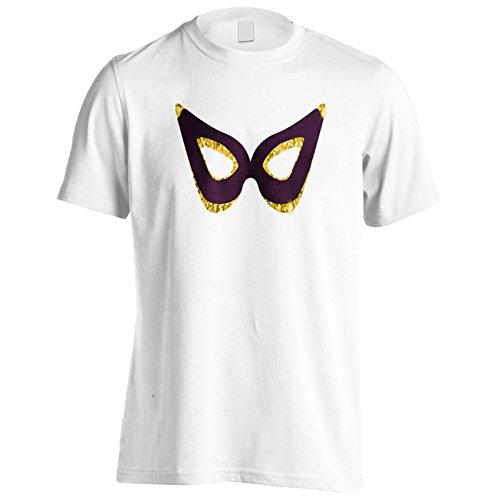 Maschera di lusso pezzi di raccolta maschere nuova arte Uomo T-shirt c517m White