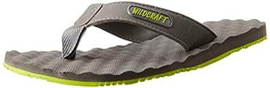 Wildcraft Men's Grey Flip-Flops and House Slippers - 9 UK/India (43 EU)