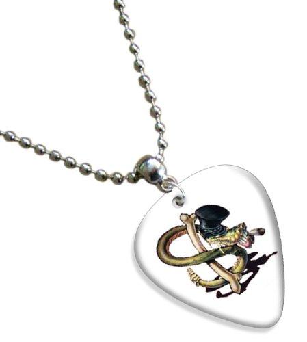 Slash Snakepit Premium Chitarra Pick Plettri Collana Necklace
