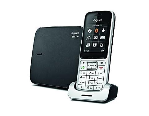 Gigaset SL450 Téléphone sans fil Argent