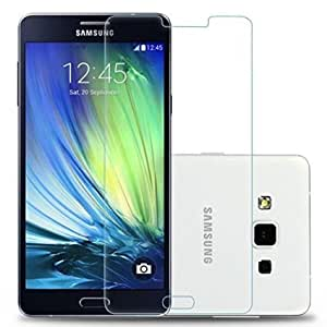 Samsung Galaxy A7 Transparent Back Cover + Tempered Glass