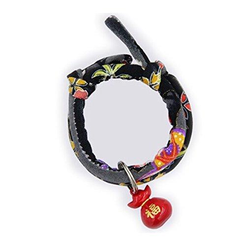 LEORX Katzenhalsband Atmungsaktive Haustiere Katze Kitty Hunde einstellbare Halsband Glocke Sicherungsbund