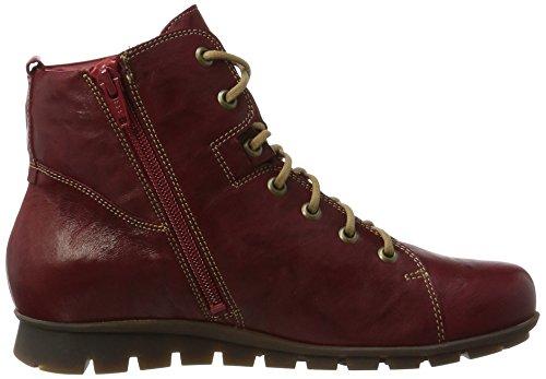 Think! Damen Menscha_181076 Desert Boots Rot (Rosso/Kombi 72)