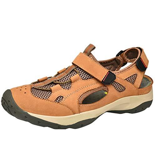 Epig Sportschuhe für Männer Mode Outdoor Sneakers aushöhlen atmungsaktive Mode Sandalen
