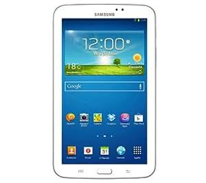 """SAMSUNG Galaxy Tab 3 WiFi / 3G 7"""" - 16 Go - blanc - Tablette + Galaxy Tab 3 7"""" Book Cover EF-BT210 - rouge grenat - Etui à rabat"""