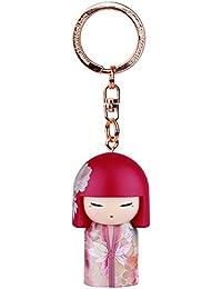 Porte clé Kokeshi Kimmidoll 5cm Tomomi - amitié