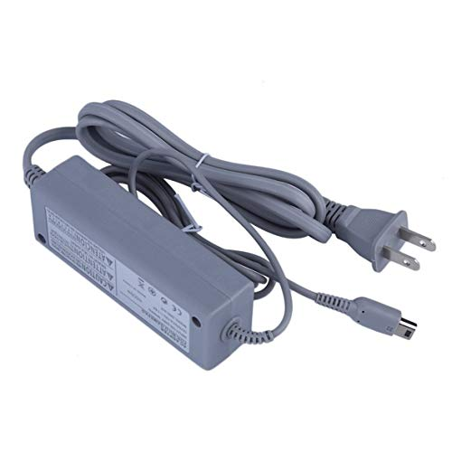 Heaviesk Netzteiladapter Ladegerät Austauschbares Ladekabel Für Nintendo für Wii U-Controller US-Stecker