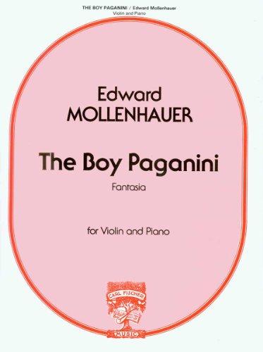 Boy Paganini Violon