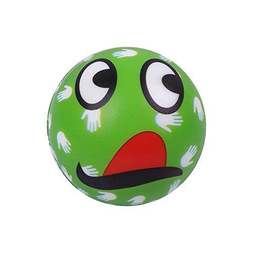 SKays Anti-Stress-Bälle, Stressabbau-Ball, überrascht grüne Emoji-Ball mit weißen Händen Mustern Squeezers, Handübung Stressbälle, perfekt zur Linderung von Stress Angstzuständen - Emojis Stress-bälle
