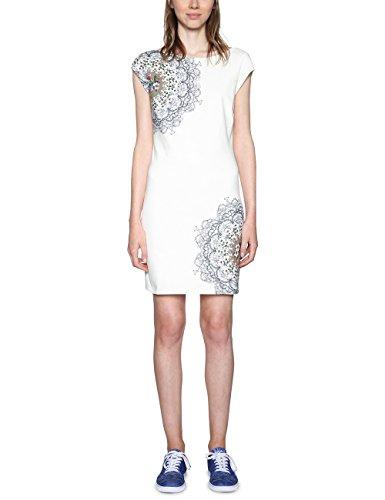 Desigual Damen Kleid mit angeschnittenen Armen und Print Details